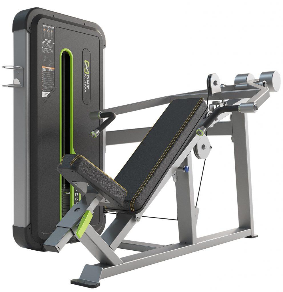 A3013 Наклонный грудной жим (Incline Press). Стек 135 кг.