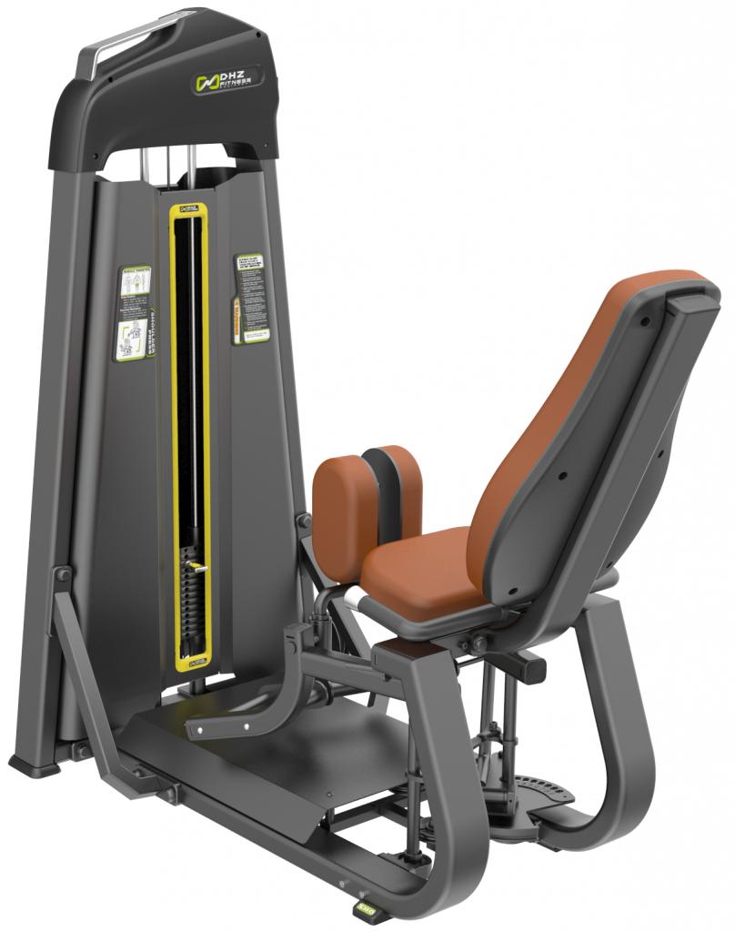 E-1078B Сведение/Разведение ног сидя (Adductor/Abductor). Стек 109 кг.