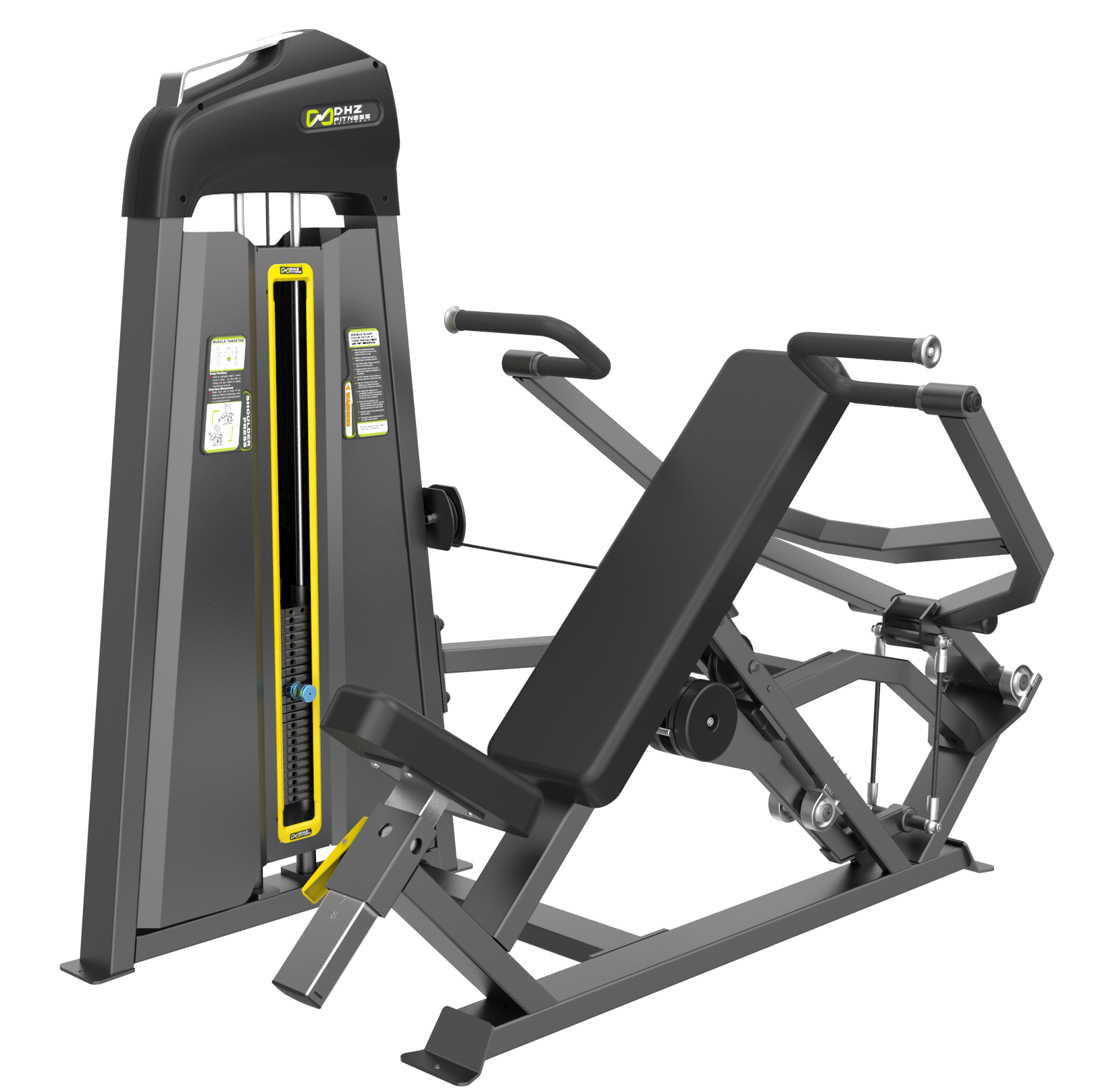 E-3006 Жим от плеч (Shoulder Press). Стек 109 кг.