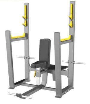A3051 Скамья для вертикального жима штанги (Olympic Seated Bench)
