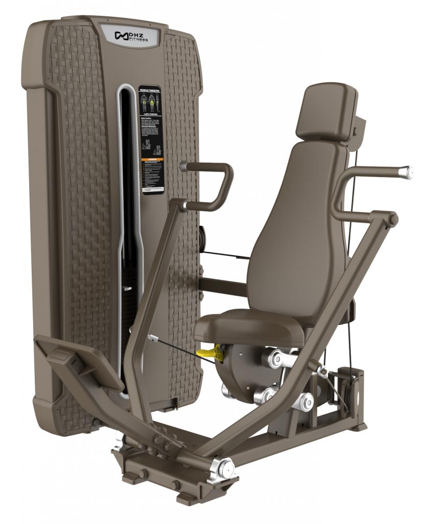 S-4008 Жим от груди вертикальный (Vertical Press). Стек 109 кг.