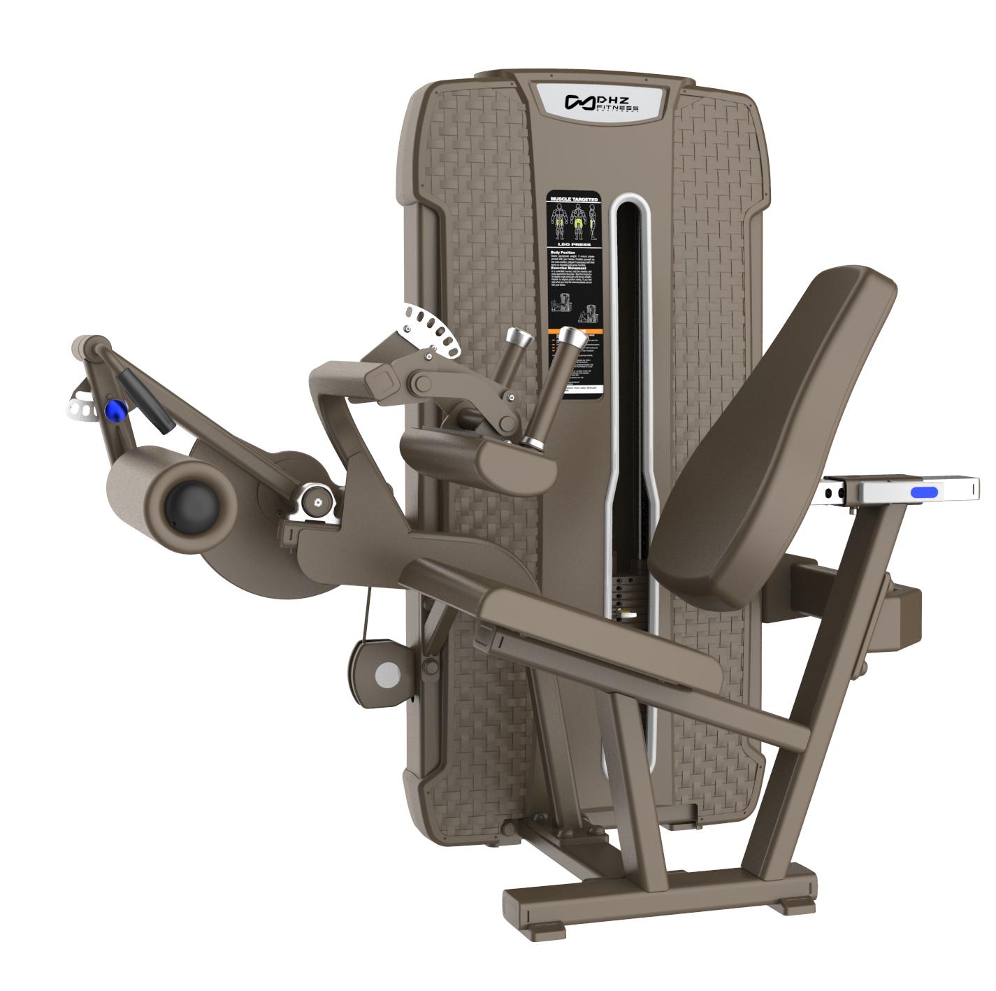 S-4023 Сгибание ног сидя (Seated Leg Cur). Стек 135 кг.