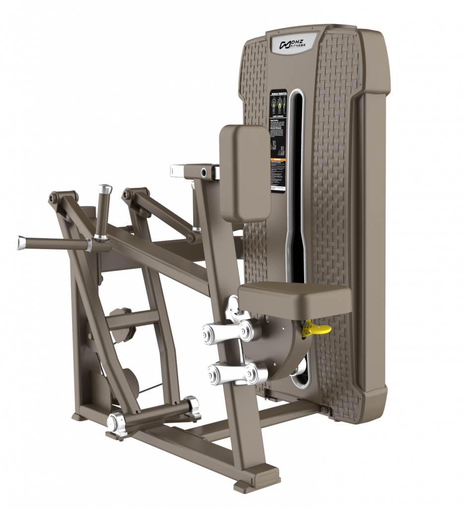 S-4034 Гребная тяга с упором на грудь (Vertical Row). Стек 105 кг.