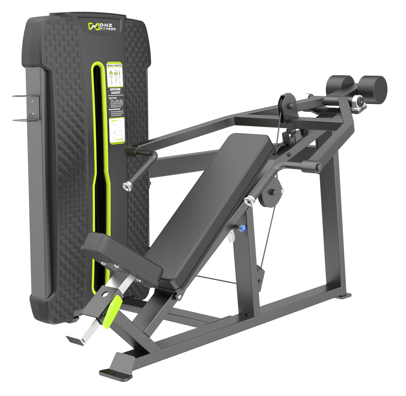 S-4013A Наклонный грудной жим (Incline Press). Стек 109 кг.