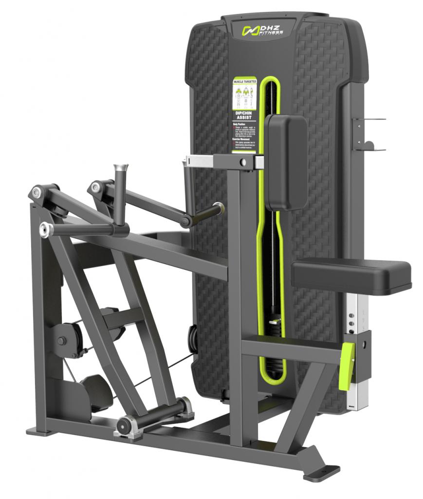 S-4034A Гребная тяга с упором на грудь (Vertical Row). Стек 105 кг.
